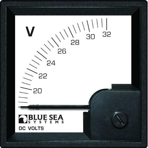 Blue Sea Systems 18to 32V DC DIN Voltmeter von Blue Sea Systems