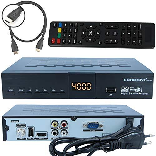 Echosat HD Sat Receiver 20500 im Test