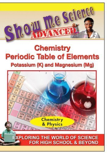 Preisvergleich Produktbild Chemistry Periodic Table of Elements Potassium (K) and Magnesium (Mg) by Inc. Allegro Productions