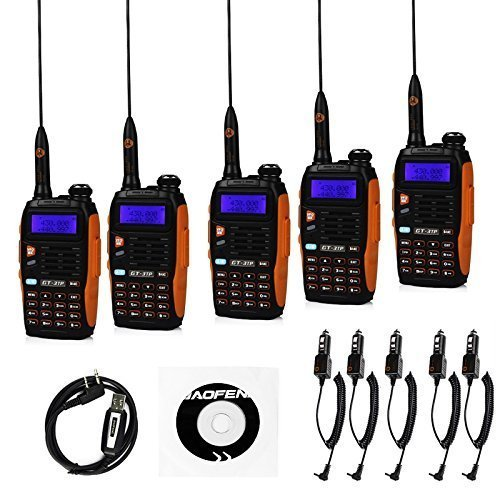 BaoFeng 3tp + Cable 5 x gt-s6790 N 3 TP Mark III 8 W 2 m/70 cm de la main Double bande UHF/VHF Appareil Talkie Walkie Radio Amateur