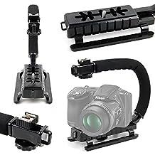 Stabilizzatore Per Fotocamera DIgitale Nikon Coolpix S5300 Compact Digital Camera , S6700 , S6800 , S6900 , S810c , S9600 , S9700 , W100 , W300 – Vite Universale – Base Antiscivolo - DURAGADGET