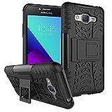 Samsung Galaxy J2 Prime Hülle , Anzhao [Heavy Duty] Rugged