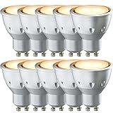 10 x Paulmann LED Reflektor 5W GU10 30° Goldlicht 2000K Extra Warm wie Kerzenlicht