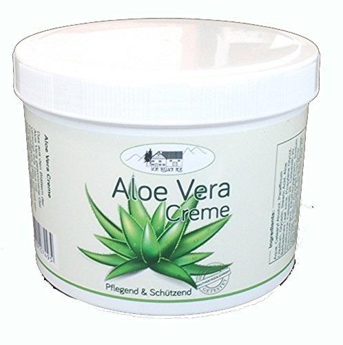 Aloe Vera Creme 500ml pflegend und schützend Hautpflege von Pullach Hof