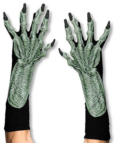 Horror-Shop Knorrige Hexenhände als Handschuhe aus Latex