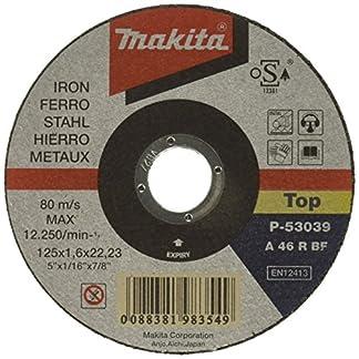 Makita P-53039 – Disco de corte metal 125mm x 1.6mm