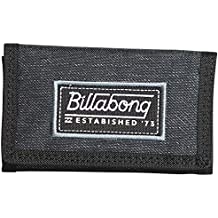 aa15fb72f Cartera Billabong Heather Trifold ~ Walled 600D Black