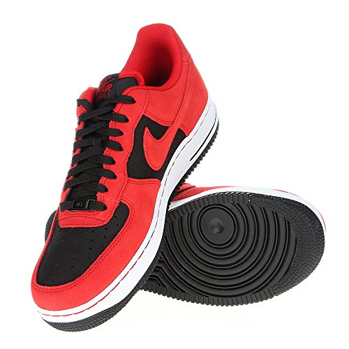 Nike Air Force 1 Red Black Mens Trainers