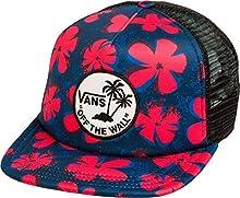 d238e7947d2 Vans Off The Wall Unisex Surf Patch Snapback Hat Cap - Red Navy Black