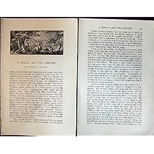 Schurken- Greife Thebaw Badminton Zeitschriften-1901 Palast-Pagoden-Boot Goldenes