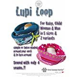 US-Lupi Loop eBook Turnover Loop Scarfs in 5 sizes XS-XL for the whole family PDF file on CD
