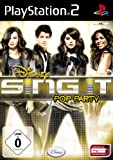 Disney Sing it: Pop Party - [PlayStation 2] -