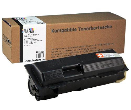 Kompatibler Kombi Toner ersetzt Kyocera Mita TK-130 und TK-140 Kapazität: 7200 Seiten schwarz (1300 Toner)
