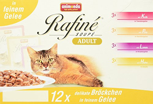 Animonda Rafine Soupe Multipack 2, Adult, 1er Pack (1 x 1.2 kg)
