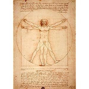 Leonardo da Vincis vitruvianischer Mensch (1487)