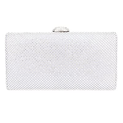 Bonjanvye Envelope Handbag Oversized Evening Purses Bag Clutches