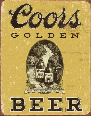 coors-golden-vintage-tin-sign-12x16-by-poster-discount