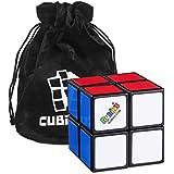 Cubo de Rubik 2x2 Original 2x2 (Rubiks Cube 2x2), Versión Mejorada - Cubikon bolso incluido