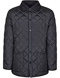 SoulStar Mens Diamond Quilted Jacket