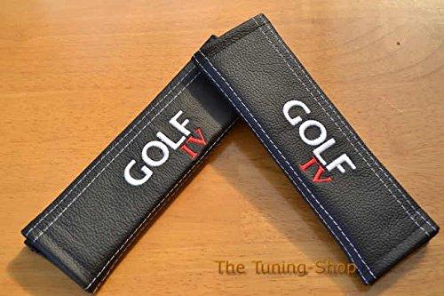 2x cintura Covers Pads Spalla Nero in Pelle Golf IV edizione per (Mazda 6 Oem Sostituzione)