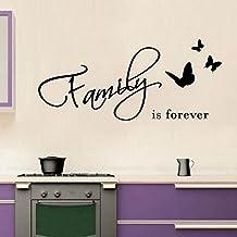 Adesiviamo® Family is Forever Wall Sticker Adesivo da Muro