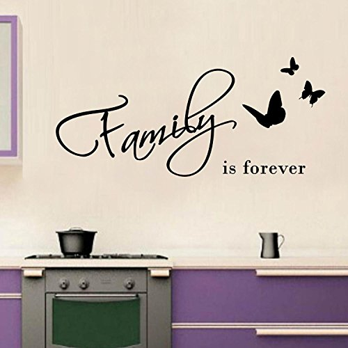 Adesiviamo® Family is Forever Wall Sticker Adesivo da Muro