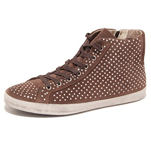 1640P sneaker donna CRIME suede marrone brown shoe women Marrone