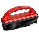TECAROO cepillo quitapelos para tapicería de coches y superficie textil con tentáculos de goma y efecto estático | con 2 años de garantía de satisfacción | cepillo quitapelusas, cepillo pelo mascotas, Pet Hair Removal Brush