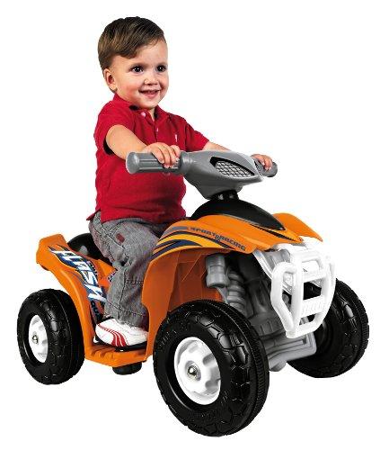 Feber 800007386 Quad Flash 6V - Vehículo quad para niños (67 x 50 x 43 cm, motor eléctrico)