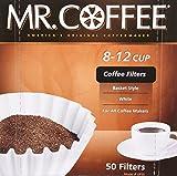 Mr Coffee 8-12 Cup Coffee Filters, 50 Fi...