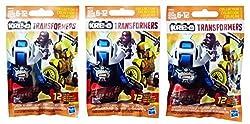 Kre-O Transformers Kreon Warriors Micro Changers Collection 1 Bundle Mini Figure Blind Bag Mystery Packs (3 Packs)