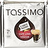 TASSIMO Carte Noire Café Long Intense 16 Tdisc - Lot de 5 (80 Tdisc)