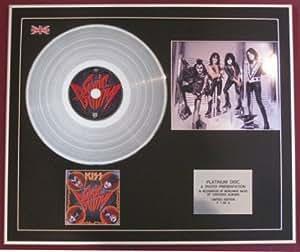 Kiss–CD Platine disque + Photo–Sonic Boom