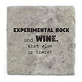 Experimentelle Rock und Wein Was ist noch?–Marble Tile Drink Untersetzer