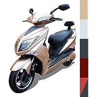 """Elektroroller """"Hawk 3000 Li"""", bis zu 60 KM Reichweite, herausnehmbarer Lithium Akku, 72V20Ah 45 km/h, 5 mögliche Farben, Betriebskosten von ca. 85 Cent pro 100 Kilometer, steuerfrei, E Scooter, kostenlose Probezeit, Gold"""