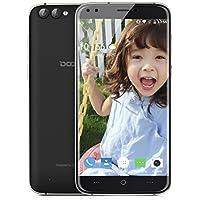 DOOGEE X30 3G Smartphone Débloqué(4 Caméras 5MP+8MP - 2Go RAM 16 Go ROM - MT6580 Quad Core 1.3GHz - 3360mAh Batterie - Dual SIM - OTA Gestes Intelligents Gesture)- Noir