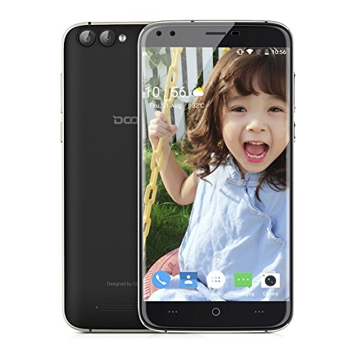 DOOGEE X30 Smartphone 3G Android 7.0 (MT6580 Quad Core 1.3GHz, 5.5