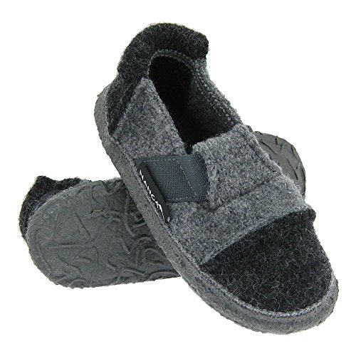 GALLUX - Tolle Hausschuhe Pantoffeln für die ganze Familie Schiefergrau