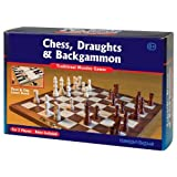 Tobar 3-in-1 Classic Wooden Games