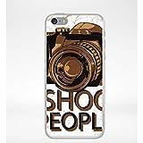Générique Coque i Shoot People Compatible iphone 5c Transparent