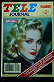 TELE JOURNAL N° 859 DU 11 MAI 1991 COVER MADONNA FORMAT POCKET