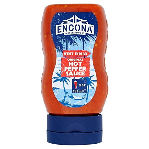 Encona Original Hot Pepper Sauce (2 x 285ml)