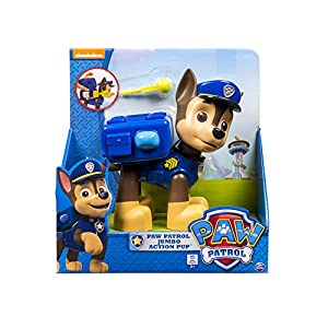 Paw Patrol Pup Acción Jumbo - Chase 8