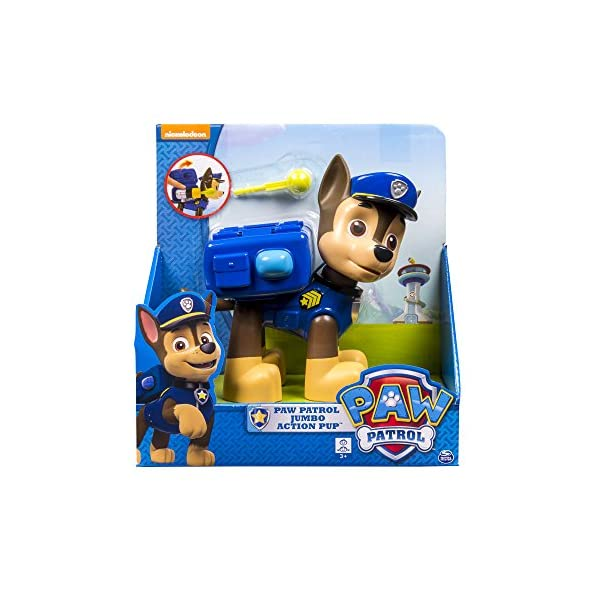 Paw Patrol Pup Acción Jumbo - Chase 1