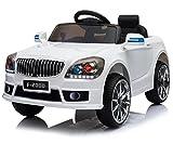 Trendsky Weiß Sportwagen Lizenz Kinderauto Kinderfahrzeug Elektronik Kinder Akku Sport Auto