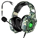 VersionTECH. Gaming Headset - Updated K8 Headset Gaming for PS4 New Xbox One