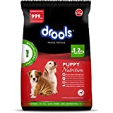 Drools 100% Vegetarian Puppy Dog Food , 6.5kg (FREE 1.2kg Extra Inside*Limited Offer Stock)