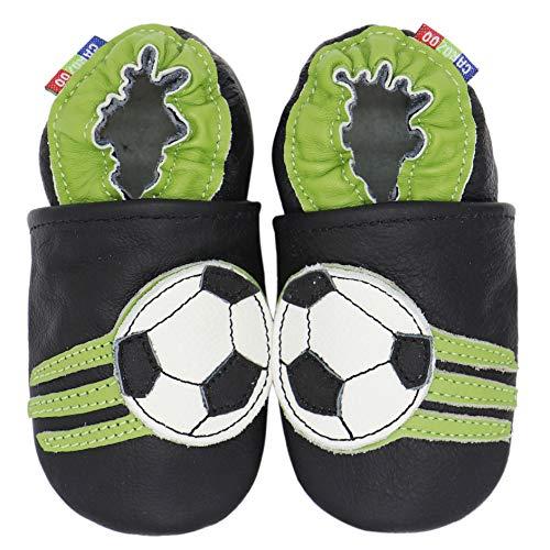 Carozoo Soccer Black 2-3y