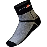 Funkier – Mallas Ciclismo Calcetines cómodo, cálido y Aislante Thermolite, Unisex, Color Negro