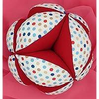 Pelota Montessori - Topitos Multicolor/Rojo